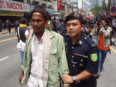 first arrest