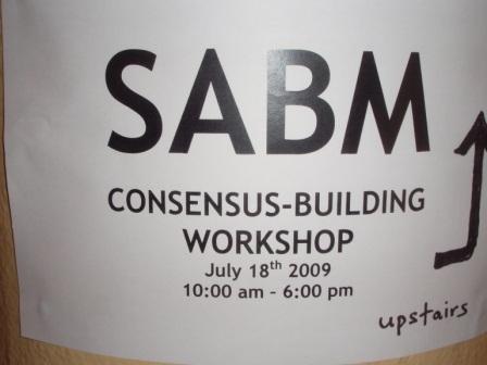 sabm consensus building ws
