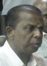 Temple committee member Selva