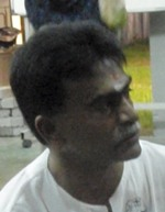 Local councillor Uthayasoorian