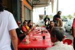 In typical Malaysian fashion, eat first, then ABU!