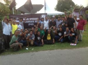Kampung Gong Pau, Kemaman, on the 13th