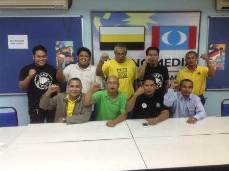 ABU operators and volunteers in Perak