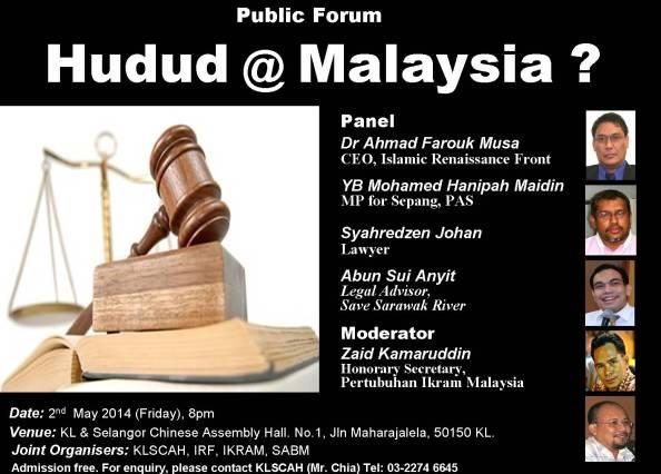 Public Forum Hudud @ Malaysia