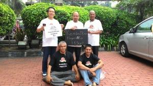 Negara-Ku steering committee ( minus Jerald Joseph )